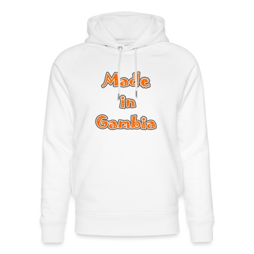 Made in Gambia - Unisex Organic Hoodie by Stanley & Stella