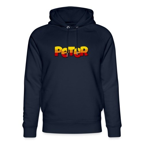 Peter LETTERS - Uniseks bio-hoodie van Stanley & Stella