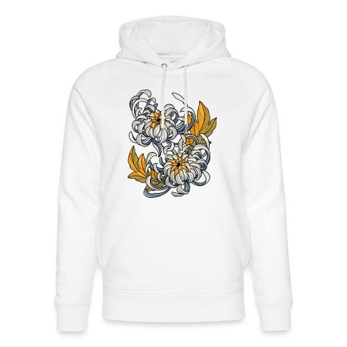 Chrysanthèmes enlacés - Sweat à capuche bio Stanley & Stella unisexe