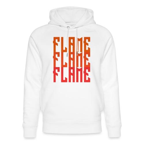 maglietta_flame_flame_flame - Felpa con cappuccio ecologica unisex di Stanley & Stella