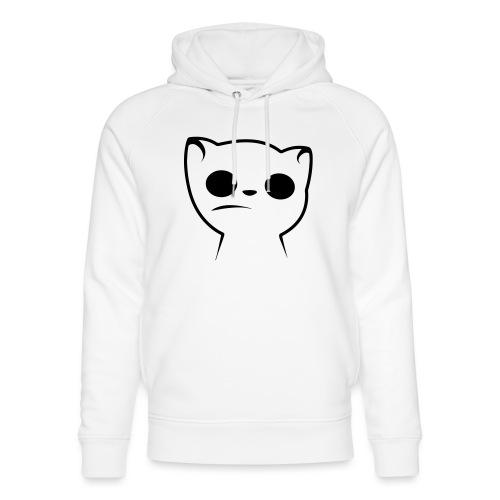Hypnocat Weiss - Frauen - Unisex Bio-Hoodie von Stanley & Stella