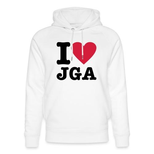 I love JGA - Unisex Bio-Hoodie von Stanley & Stella