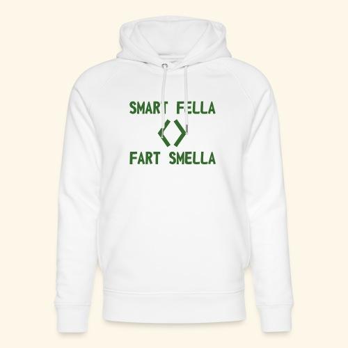Smart fella - Felpa con cappuccio ecologica unisex di Stanley & Stella