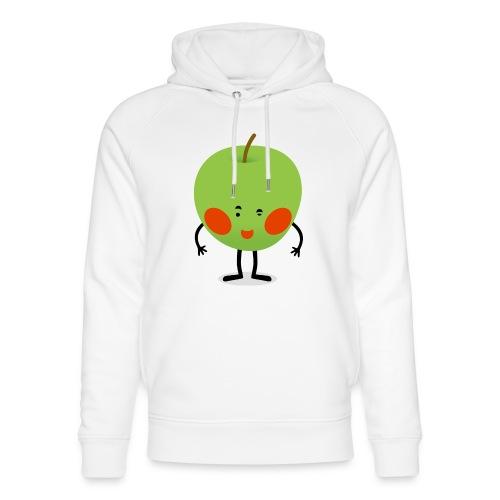 Happy Apfel - Unisex Bio-Hoodie von Stanley & Stella