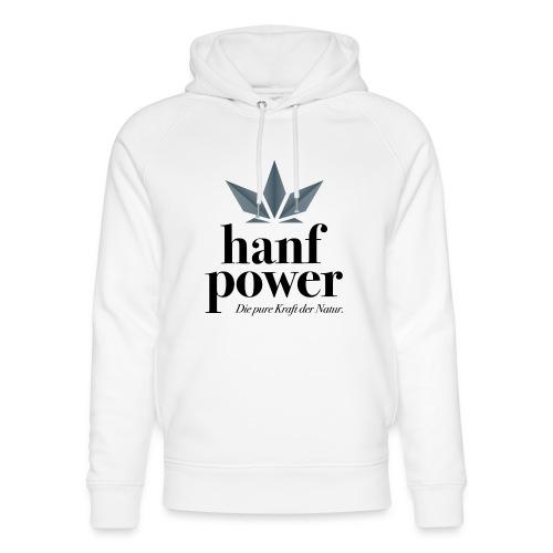 Hanf Power Logo - Unisex Bio-Hoodie von Stanley & Stella