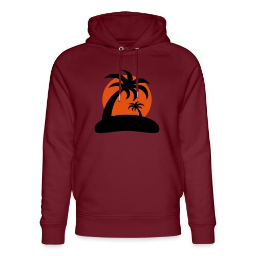 palm island sun - Uniseks bio-hoodie van Stanley & Stella