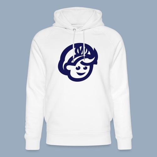 logo bb spreadshirt bb kopfonly - Unisex Organic Hoodie by Stanley & Stella