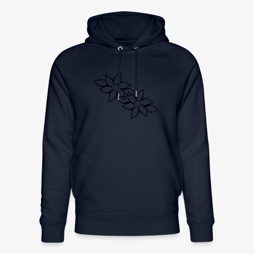 flowers - Stanley & Stella unisex hoodie af økologisk bomuld
