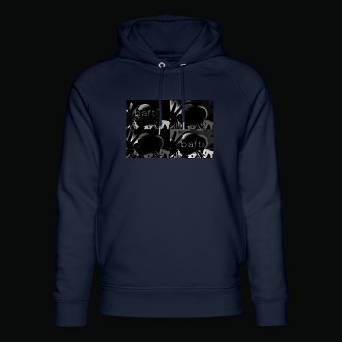 black bafti crew - Stanley & Stella unisex hoodie af økologisk bomuld
