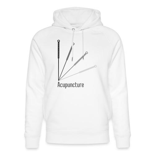 Acupuncture Eventail (logo noir) - Sweat à capuche bio Stanley & Stella unisexe