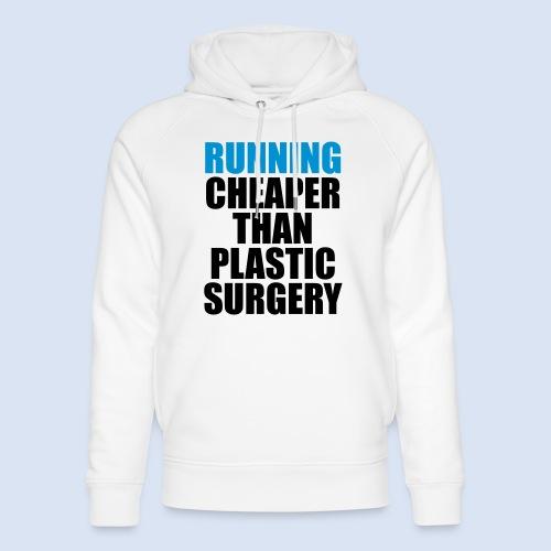 Running is cheaper than - Unisex Bio-Hoodie von Stanley & Stella