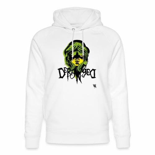 DerangeD - Tattoo Metal Horror Vampire - Stanley & Stella unisex hoodie af økologisk bomuld