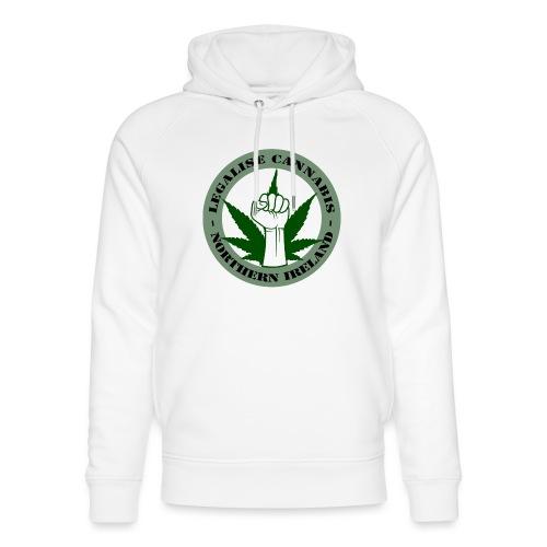 Legalise Cannabis - Northern Ireland - Unisex Organic Hoodie by Stanley & Stella