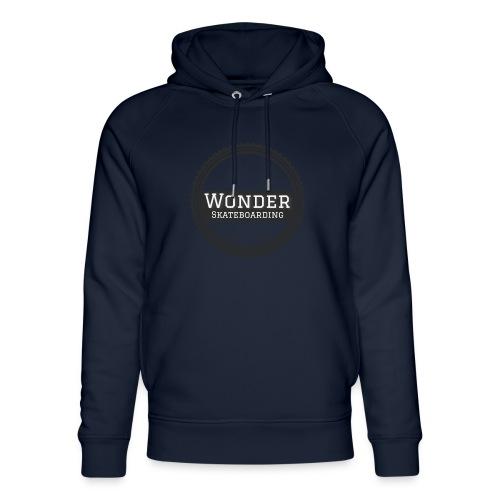 Wonder unisex-shirt round logo - Stanley & Stella unisex hoodie af økologisk bomuld