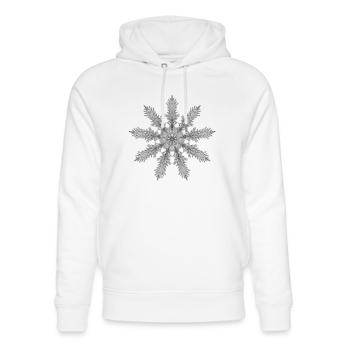 Magic Star Tribal #4 - Unisex Organic Hoodie by Stanley & Stella