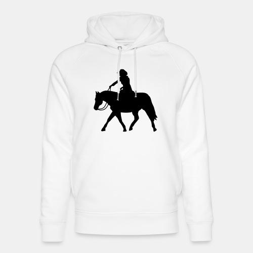 Ranch Riding extendet Trot - Unisex Bio-Hoodie von Stanley & Stella