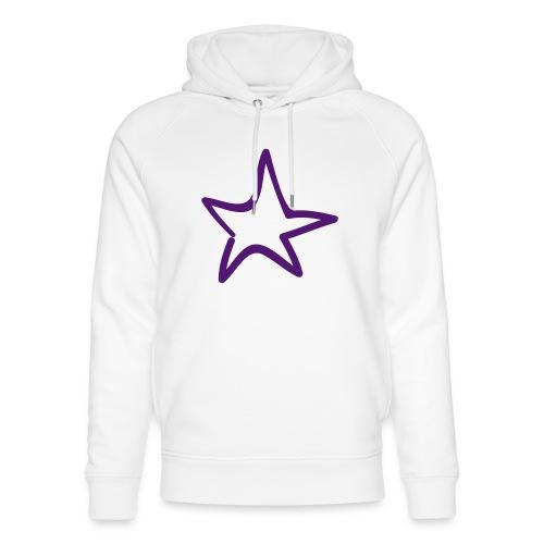 Star Outline Pixellamb - Unisex Bio-Hoodie von Stanley & Stella