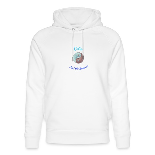 CoGie, Feel the Balance - Unisex Organic Hoodie by Stanley & Stella