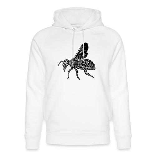 Skelett Biene - Uniseks bio-hoodie van Stanley & Stella