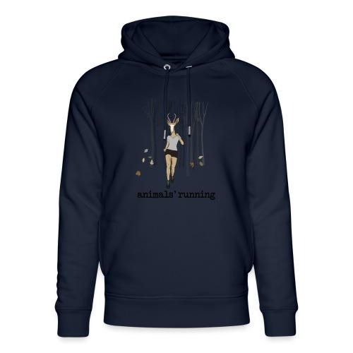 Antilope running - Sweat à capuche bio Stanley & Stella unisexe