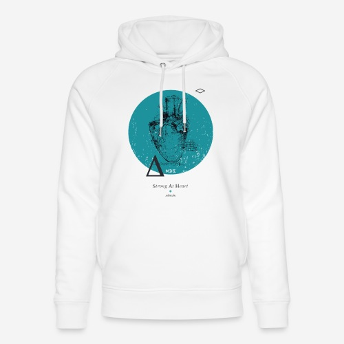Strong At Heart ♡ - Unisex Bio-Hoodie von Stanley & Stella