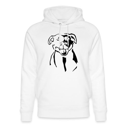 Staffordshire Bull Terrier - Stanley & Stellan unisex-luomuhuppari