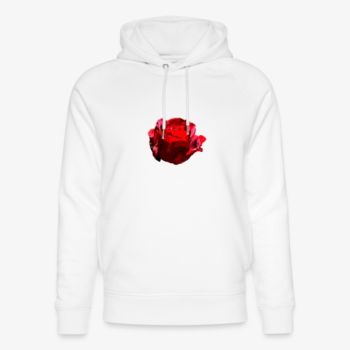 Red Rose - Unisex Bio-Hoodie von Stanley & Stella