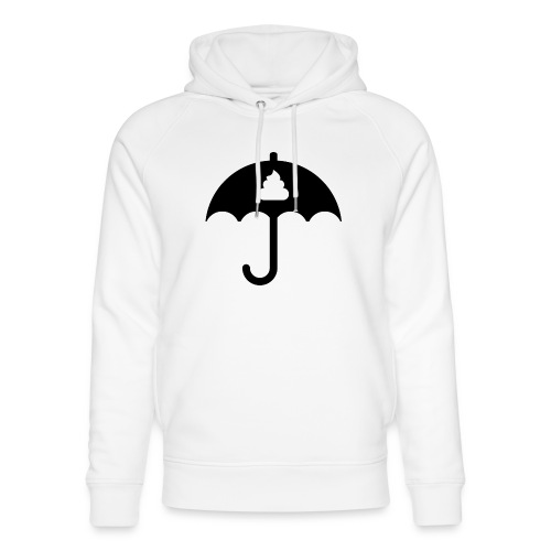 Shit icon Black png - Unisex Organic Hoodie by Stanley & Stella