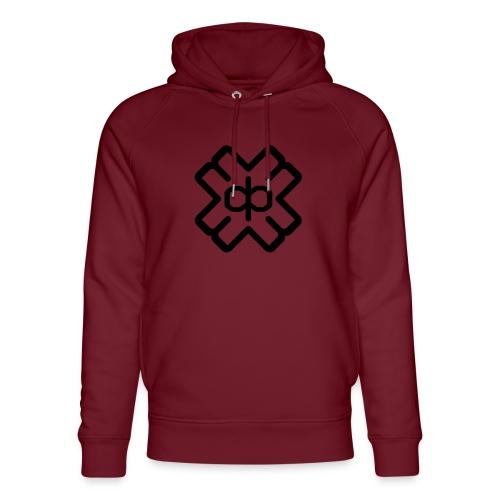 d3ep logo black png - Unisex Organic Hoodie by Stanley & Stella