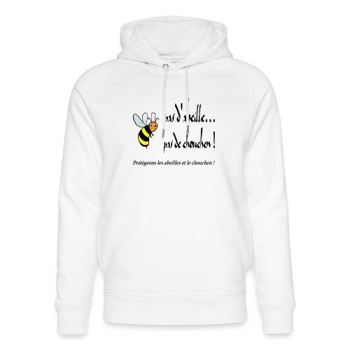 Pas d'abeille, pas de chouchen - Sweat à capuche bio Stanley & Stella unisexe