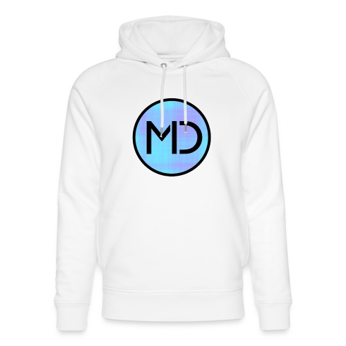 MD Blue Fibre Trans - Unisex Organic Hoodie by Stanley & Stella
