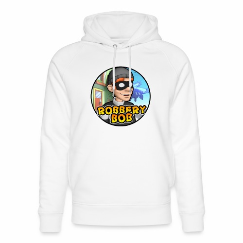 Robbery Bob Button - Unisex Organic Hoodie by Stanley & Stella
