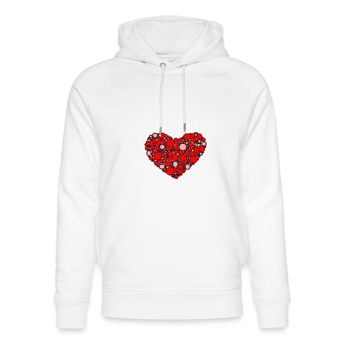 Hjertebarn - Stanley & Stella unisex hoodie af økologisk bomuld