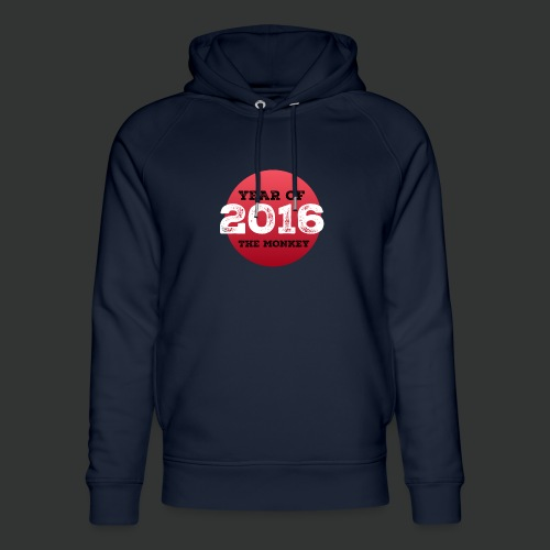 2016 year of the monkey - Unisex Organic Hoodie by Stanley & Stella