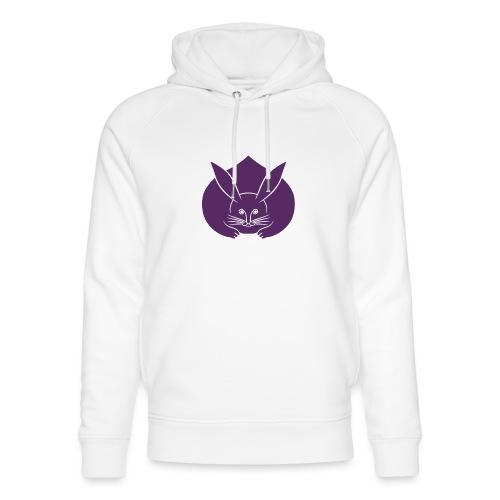 Usagi kamon japanese rabbit purple - Unisex Organic Hoodie by Stanley & Stella