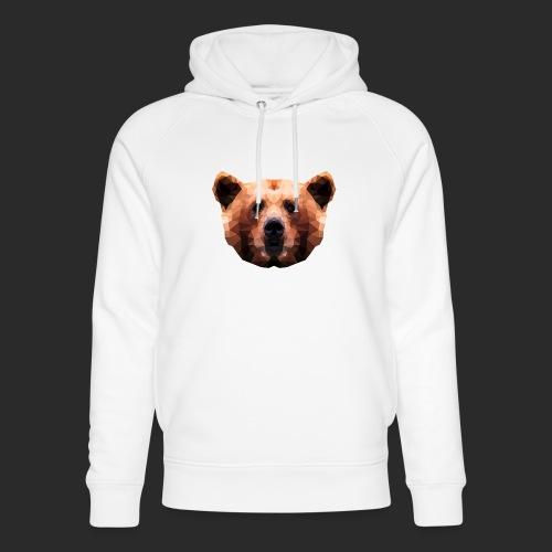 Low-Poly Bear - Unisex Bio-Hoodie von Stanley & Stella