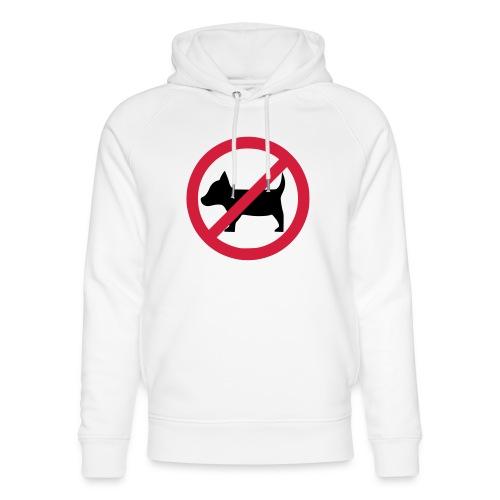 No dogs! - Anti-Hunde-Shirt - Unisex Bio-Hoodie von Stanley & Stella