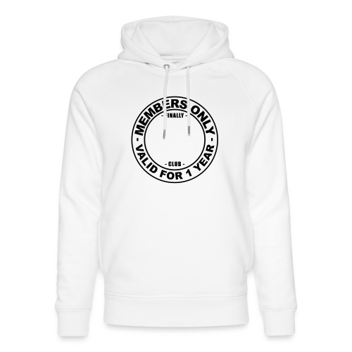 Finally XX club (template) - Unisex Organic Hoodie by Stanley & Stella