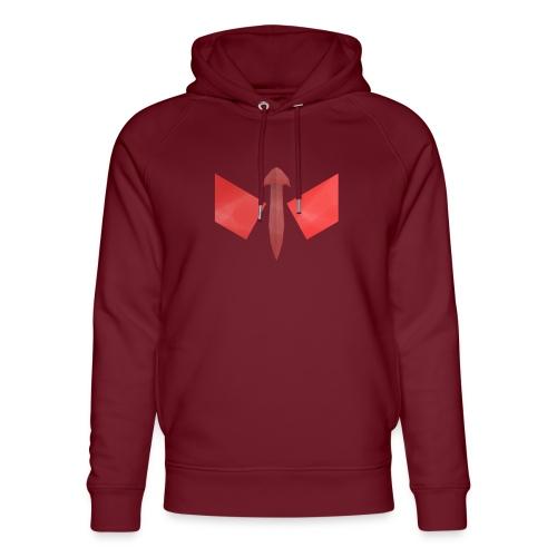 butterfly-png - Uniseks bio-hoodie van Stanley & Stella