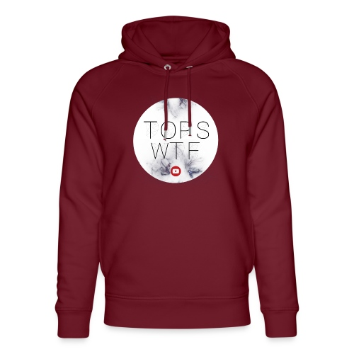 Official TOPS WTF T-Shirt - Unisex Organic Hoodie by Stanley & Stella