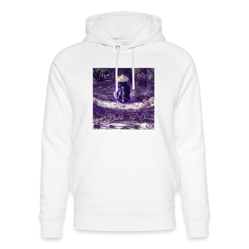 the first sense tape jpg - Unisex Organic Hoodie by Stanley & Stella