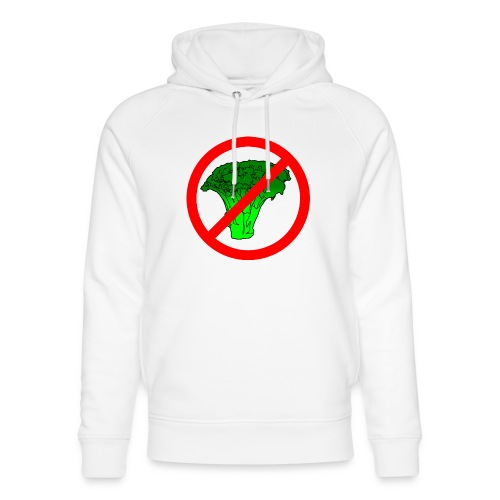 no broccoli allowed - Unisex Organic Hoodie by Stanley & Stella