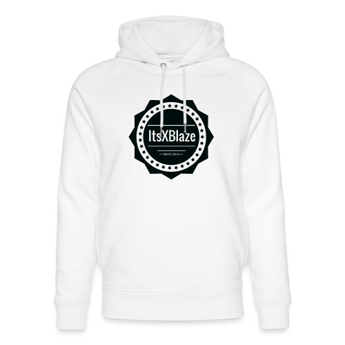 ItsXBlaze Logo 2 Women V-neck option 2 - Uniseks bio-hoodie van Stanley & Stella