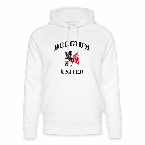 Belgium Unit - Unisex Organic Hoodie by Stanley & Stella