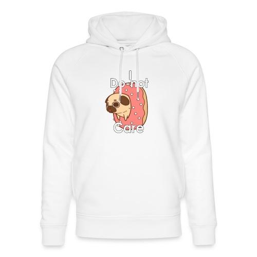 i do nut care tshirt - Uniseks bio-hoodie van Stanley & Stella