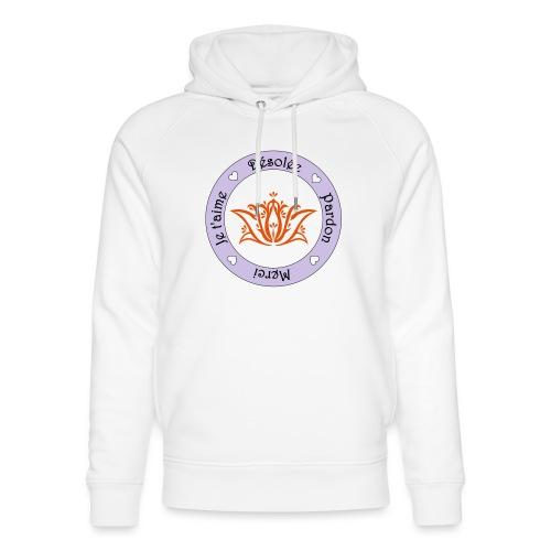 Tee shirt Bio Femme Ho oponopono - Unisex Organic Hoodie by Stanley & Stella