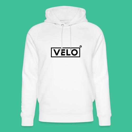 Velo Icon Blk - Long Sleeve Baseball Shirt W/N Clr - Unisex Organic Hoodie by Stanley & Stella