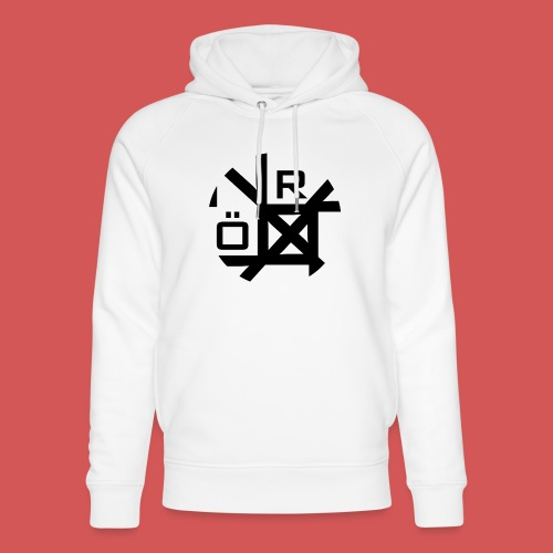 Nörthstat Group™ TecH | iCon - WHT.Knapsack - Unisex Organic Hoodie by Stanley & Stella
