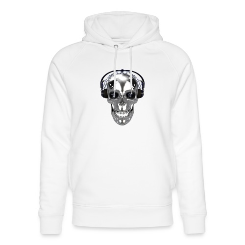 Skull chrome electrique - Sweat à capuche bio Stanley & Stella unisexe