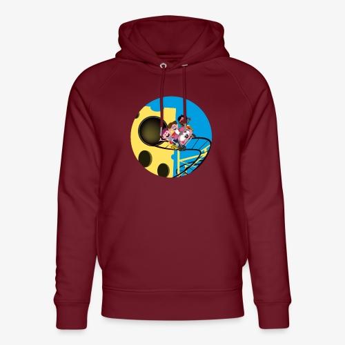 Themepark: Mousecoaster - Uniseks bio-hoodie van Stanley & Stella
